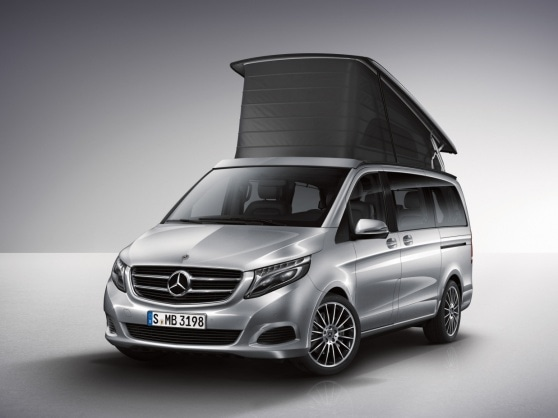 Rakendus Mercedes-Benz Guides App Marco Polo HORIZON